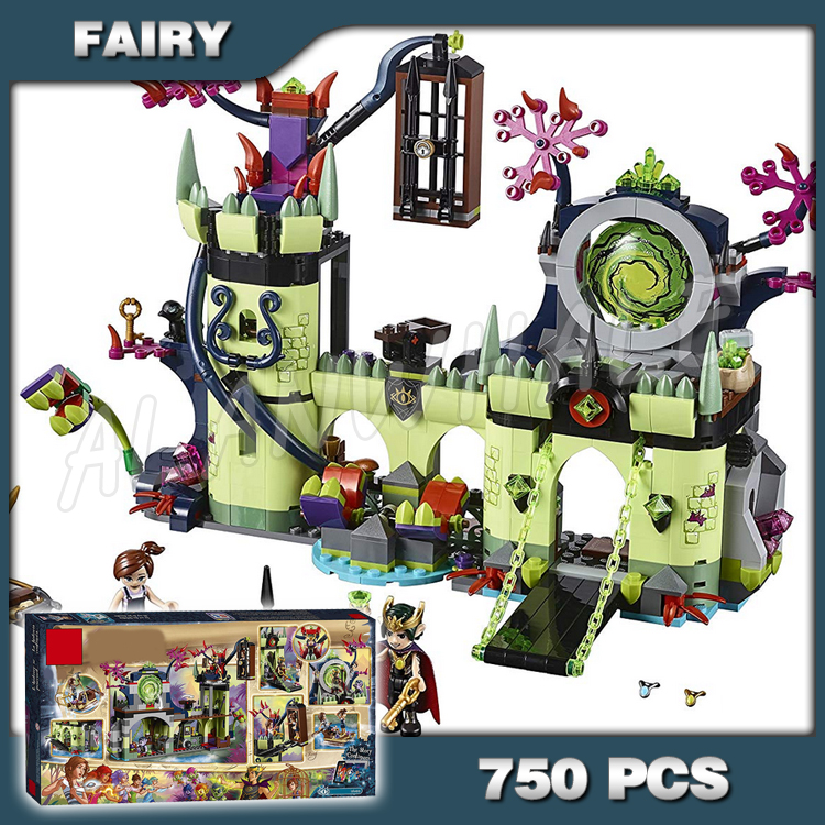 750pcs Fairy Breakout from the Goblin King's Fortress 10699 Model Building Blocks Children Toys Brick Compatible with Lago Elves image
