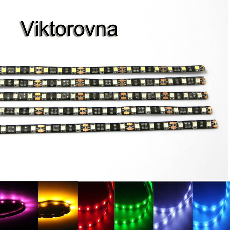 1Pcs 12V 30cm super bright LED Daytime Running light DRL Waterproof 5050 SMD Car Auto Decorative Flexible 18 LED Strip Fog lamp smd 12 led extendable light strip 30cm green 12v