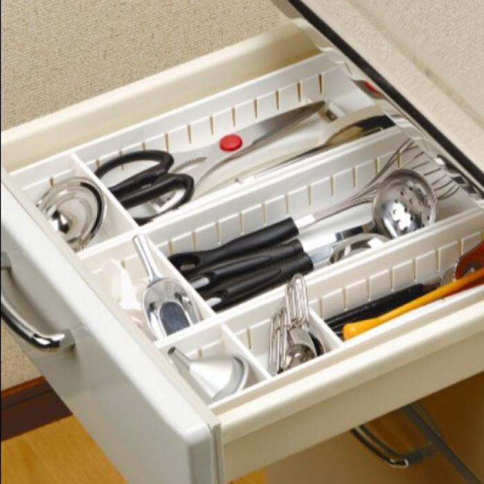 Japan Inomata Plastic Drawer Organzier Storage Bin Kitchen