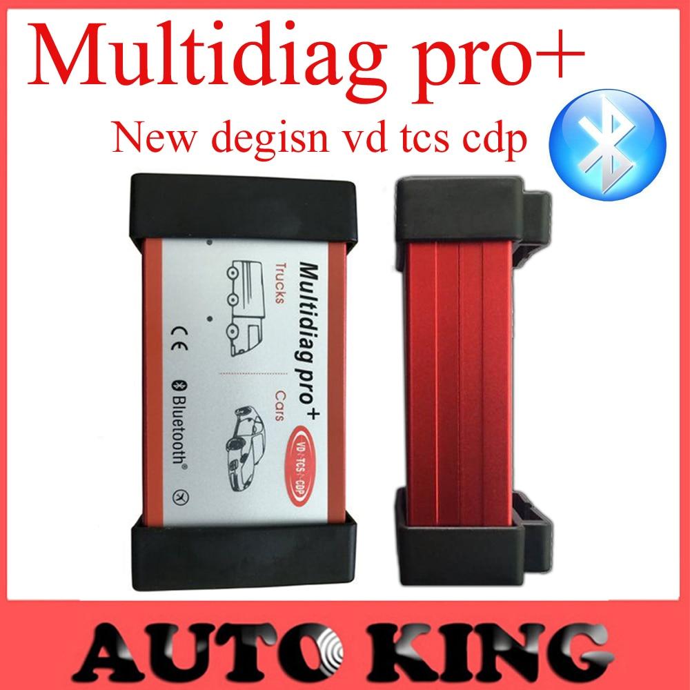 Цена за 2017 Качество + Multidiag pro + 2015 R1 программное обеспечение dvd с Bluetooth в. д. tcs cdp Pro новый vci obd2 для Автомобилей/Грузовиков Бесплатная Доставка