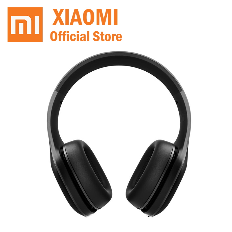 Original Xiaomi Mi Bluetooth Headphone earphone wireless 4 1 Version Bluetooth aptX 40mm Dynamic PU Headset