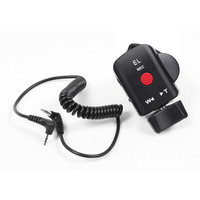 Mayitr 1pc Camcorder Zoom Remote Control With 2 5mm Shutter Connecting Cable For Sony Canon Panasonic