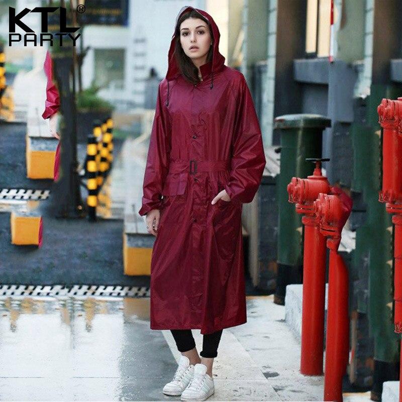 ebfb4ebe0b5 KTLPARTY Womens Fashion wind breaker raincoats female outdoor travel  rainwear lady waterproof walking wind coat poncho-in Raincoats from Home    Garden on ...