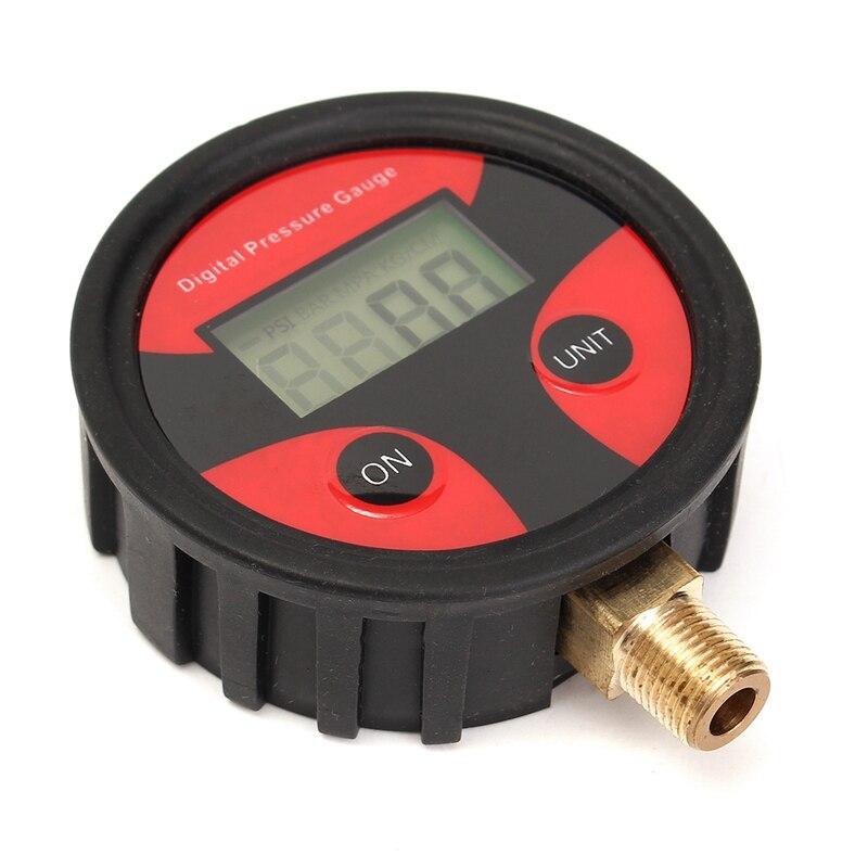 Motor Car Truck Bike Tyre Tire Air Pressure Gauge Dial Meter Tester 0-100 PSI