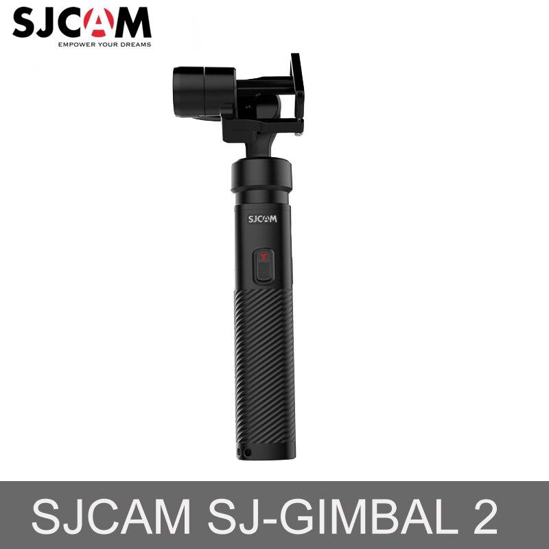 Eixo Estabilizador Cardan Handheld 3 SJCAM SJ-2 Gimbal para GOPRO Hero6/5/4 SONY RX0 YI, série SJ8 SJ6 Lenda SJ7 Estrela Câmera de Ação