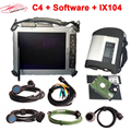 MB STAR C4/C5 car Diagnostic scanner with V07/2019 MB Software SSD XP system with Xplore ix104 Tablet ready to work MB tool