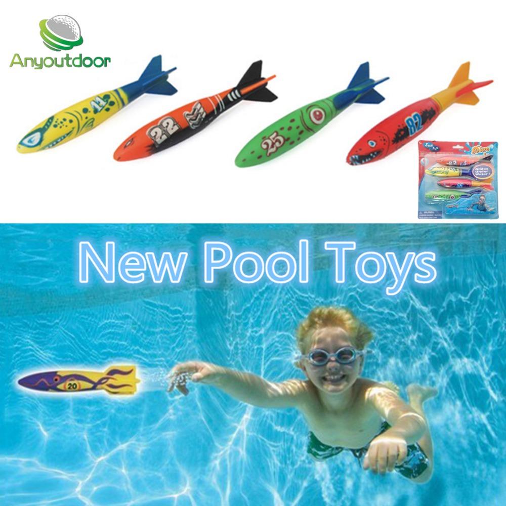 buceo torpedo que lanzan juguetes juegos de deportes juegos exterior agua piscinas diversin los nios del