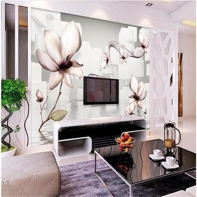fototapete esszimmer, beibehang benutzerdefinierte 3d große wand mural tapete hd weiße, Design ideen