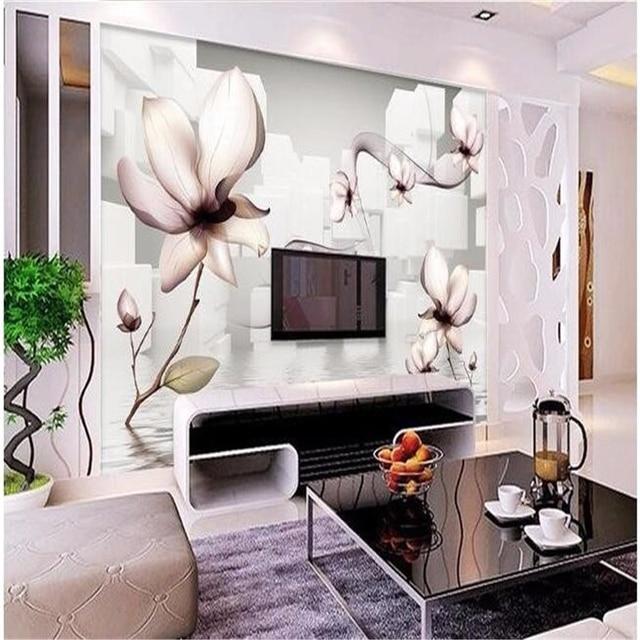 Fototapete Esszimmer | Beibehang Benutzerdefinierte 3d Grosse Wand Mural Tapete Hd Weisse