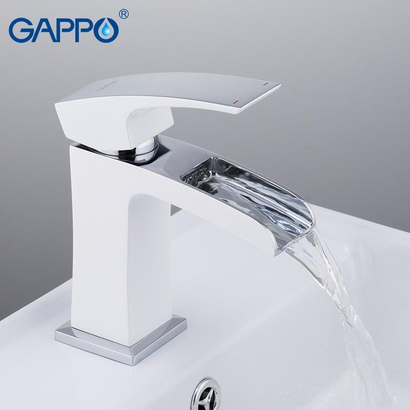 GAPPO basin faucets water mixer bathroom sink faucet basin faucet chrome brass faucet waterfall basin mixer