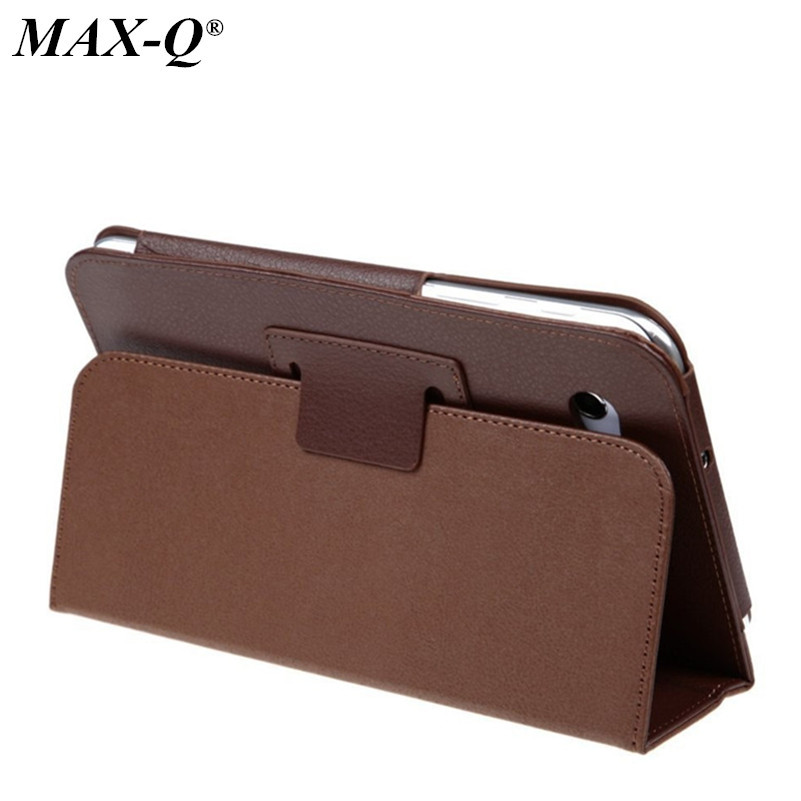 Business Stereo Stand PU Leather foldable Case for Samsung Galaxy Tab2 7 0 Smart Cover for