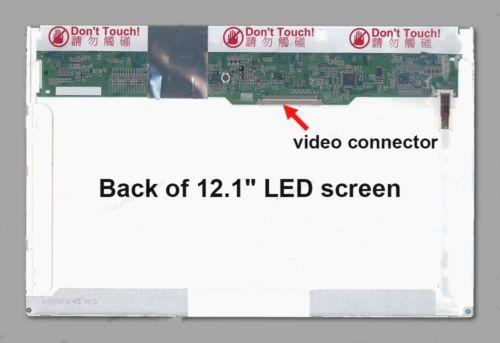 LCD Screen 12.1 inches B121EW09 V.4 LP121WX3-TP B1 For HP Elitebook 2540P 30Pins