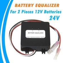 Batterie Equalizer für Zwei Stücke 12 v Gel Flut AGM Blei Säure Batterien