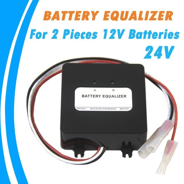 Batterij Equalizer voor Twee Stukken 12 v Gel Flood AGM Lood zuur Batterijen