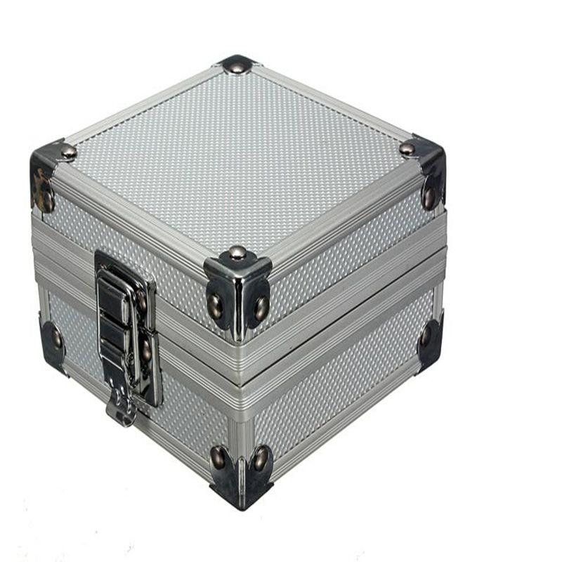 High Grade Professional Tattoo Machine Gun Box For Tattoo Machines Aluminum Tattoo Machine Gun Box Case Kit Free Shipping
