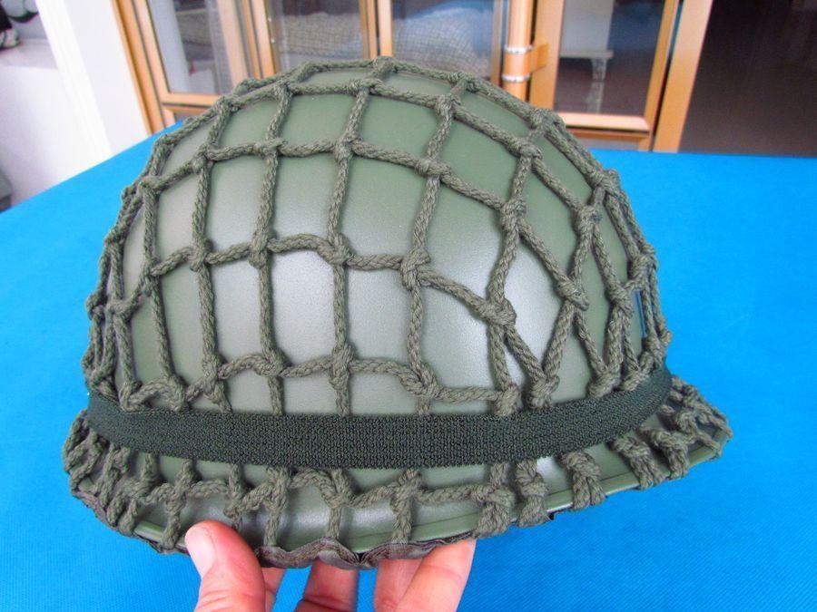 Billiger Preis Militech Usa M1 Replica Helm Mit Inneren Abs Helm Ww2 M1 Doppel Decker Helm Motorrad Sicherheit Stahl Helm Weltkrieg 2 Sicherheit & Schutz Schutzhelm