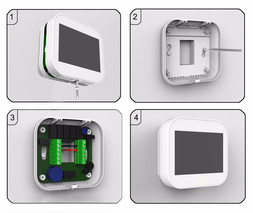 Alexa-WiFi-3 H/2C, Gás/Elétrico/Calor/Bomba de Combustível Fóssil/Convencional
