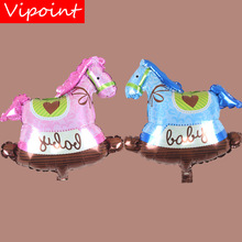 VIPOINT PARTY 45x49cm pink blue Little horse foil balloons wedding event christmas halloween festival birthday party HY-225