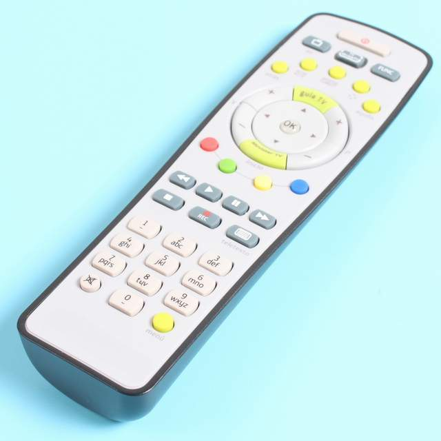 US $4 98 |Remote control for Zyxel ARRIS ADB Decoder, Imagino Mando A  Distancia of Movistar STB + Universal TV 2 in 1, original -in Remote  Controls