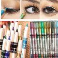 12 Colors Glitter Eyeliner Pencil Pencil Pen Cosmetic Makeup Set Mix colors Beauty Tools