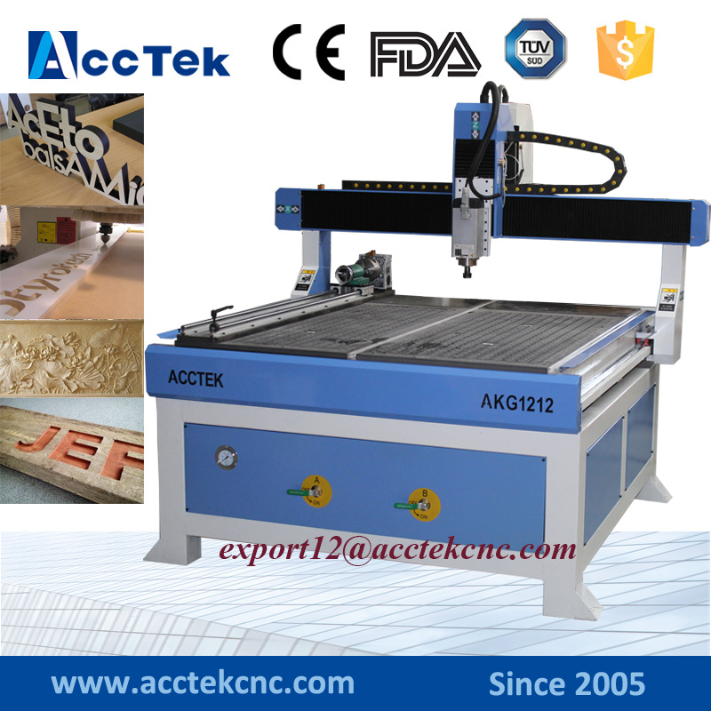 CE Approved 3 Axis Cnc Mdf Plywood Wood Cnc Mill Machine, High Speed 1212 Wood Carving Cnc Router