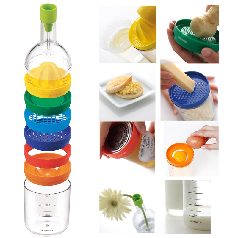 Attirant New Multi Functional 8 In 1 Kitchen Tool Set Multipurpose Kitchen Gadget  Kitchen Tool Bottle Free Shipping In Peelers U0026 Zesters From Home U0026 Garden  On ...