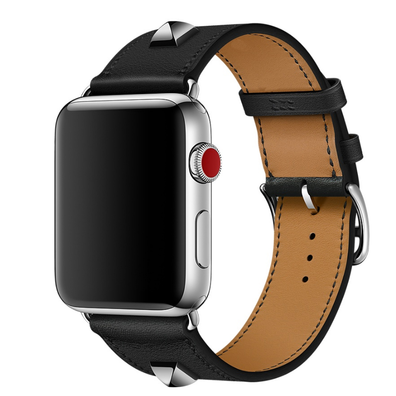 Genuine-Leather-Rivet-Custom-Edition-Single-Tour-Watch-band-Strap-For-herm-Apple-Watch-Series-1 (3)
