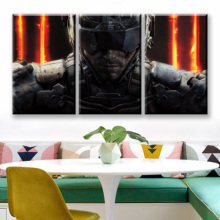 Canvas HD Print Painting Wall Art 3 Pieces Black Ops 4 Call Duty Game Pictures Modular Abstract Poster Living Room Decor