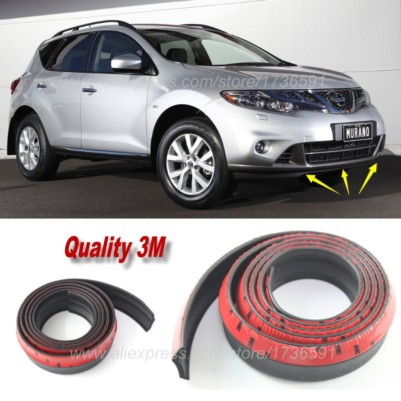 For Nissan Murano Z51 / Car Bumper Lips / Spoiler For Car Tuning / Body Kit Strip / Front Tapes / Body Chassis Side Protection