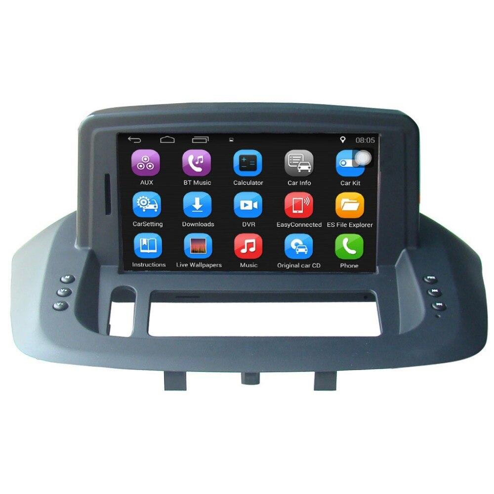 Accessori auto 7 pollice Android di Navigazione GPS Per Auto per la Renault Fluence Autoradio Video di Sostegno del Giocatore di WiFi Bluetooth