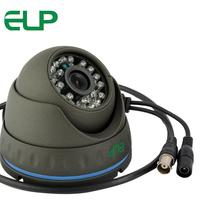 1mp 720P indoor outdoor cmos CCTV surveillance Waterproof IR dome AHD camera ELP-610HD