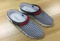 xgvokh/большие размеры 39-46, сандалии мужские, летние дышащие, дышащие, сетчатые, мужские легкие тапочки, уличная, пляжная мужская обувь, тапочки для отдыха