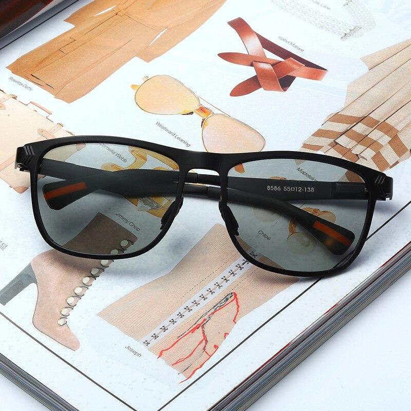 2018 Photochromic Polarized Sunglasses classic design Day Night Men's Sunglasses for Driving Fishing UV400 Sun Glasses for men 2