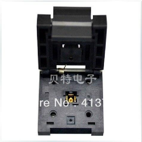 Original Enplas QFN20 QFN-20BT-0.5-01 to test burn module qfn20 mlp20 mlf20 qfn 20bt 0 5 01 qfn enplas ic test burn in socket programming adapter 4x4mm 0 5pitch free shipping