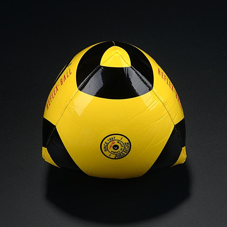 Reflex Ball font b Football b font Goalkeeper Training Triangle Rebound Goal Practice Goalie Goaltender Elastic
