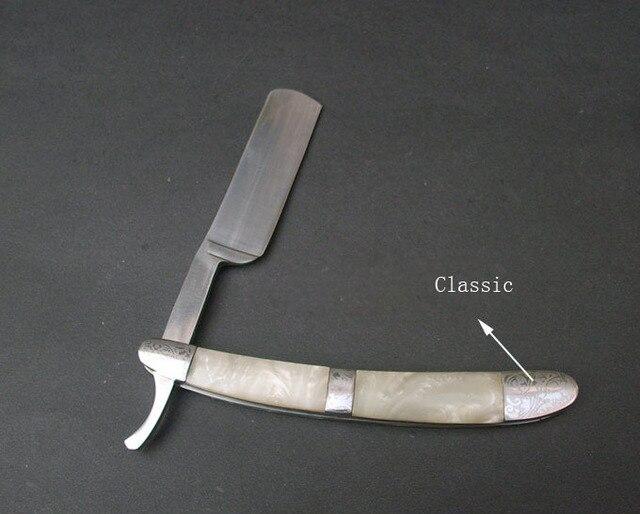 Barber razor  for men handheld straght edge European style upscale vintage barber lasting razors classic