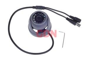 Image 3 - 700TVL 1/4 CMOS 12 Led di Visione Notturna 3.6mm Lente Esterna/Interna In Metallo Impermeabile Mini Macchina Fotografica Della Cupola di Sicurezza macchina Fotografica del CCTV