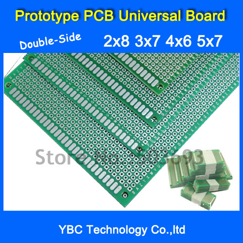 Double Side Prototype Pcb Universal Circuit Board Wire In Pakistan