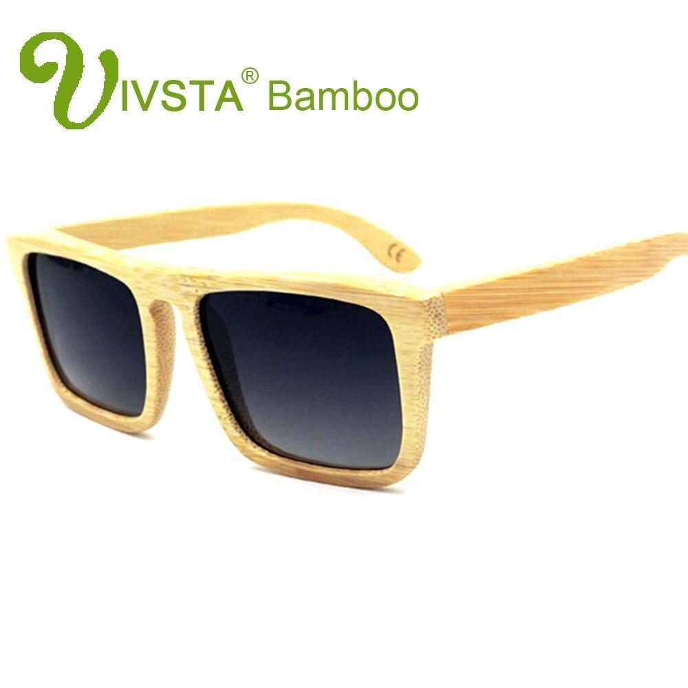 IVSTA Kayu Bambu Kacamata Laki-laki Kacamata Kayu Terpolarisasi - Aksesori pakaian - Foto 6