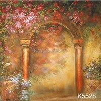 Загадочный Живописный фон K5528  3 м * 5 м ручной росписью фон для фотосъемки  estudio fotografico  фоны для фотостудии