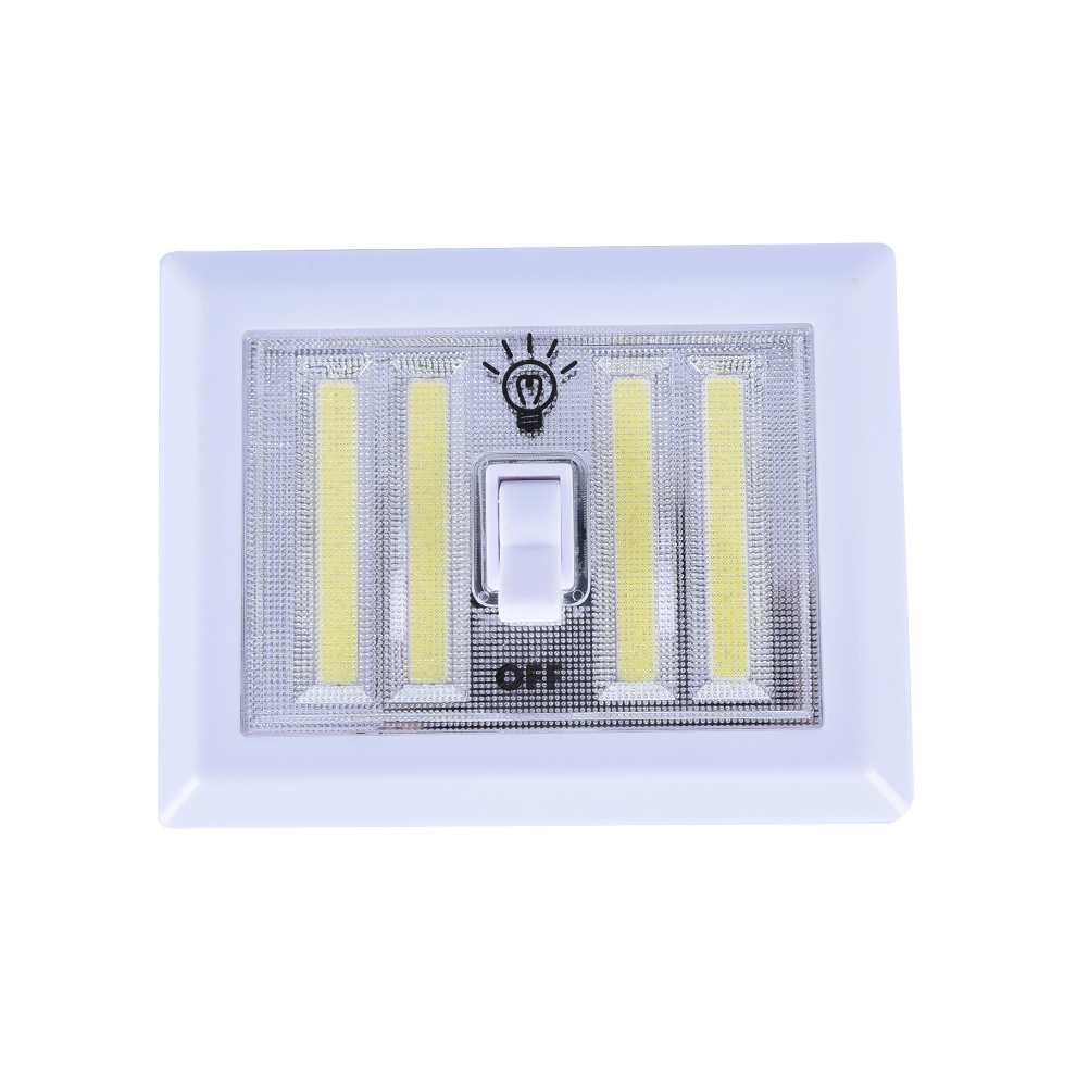 Garage Lights That Come On At Night: New COB LED Cordless Light Switch Wall Night Lights