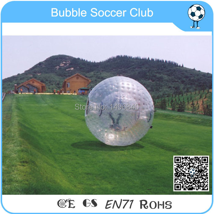 Giant good quality grass rolling human inflatable body zorb ball Football zorb,for adults 3m diameter empty inflatable snow ball for advertisement christmas decorations giant inflatable snow globe