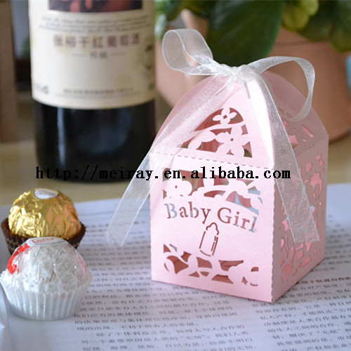 Personalised Baby Shower Christening Favour or Small Cupcake Boxes