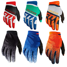 Black Red Dirtpaw Off-Road Motorcycle Gloves Enduro MTB Racing Moutain Bike Cycling Gloves