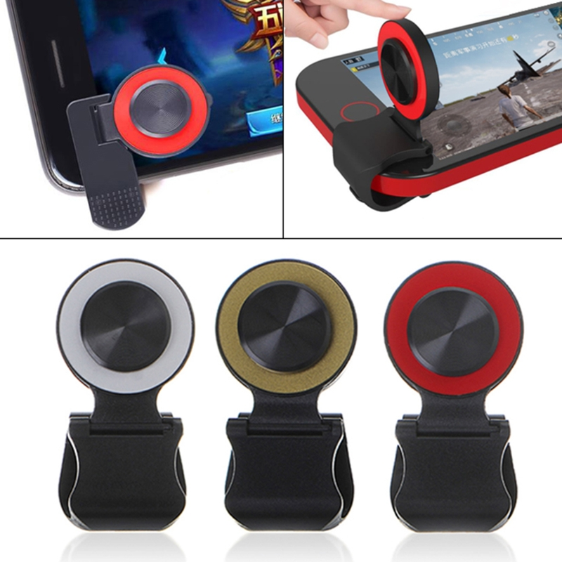 Mobile Phone Game Joystick Controller Mini Touch Screen Universal Clip-On Clamp