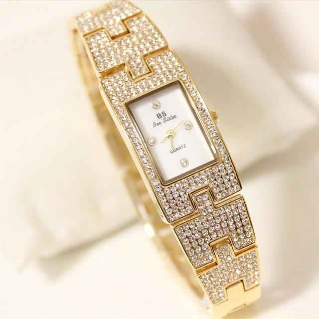 Hot sale Creative Dress Gold watch Women's Bracelet Watches luxury ladies watch