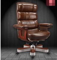 Босс стул. Компьютерное кресло из натуральной кожи. Домашний офисный стул.. 66