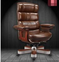 Boss chair. Real leather computer chair. Home office chair. .66