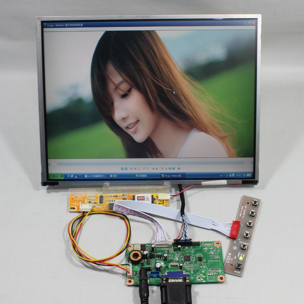 VGA LCD controller board RT2270 12.1inch LTD121ECNN 1024x768 lcd screen screen model lcd for Raspberry Pi