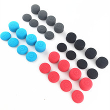 лучшая цена 8 in 1 Silicone Enhanced Thumb Stick Grip Caps Gel Cover for Nintend Switch NS Joy-Con Sticks Joystick Grips For Nintendo Switch